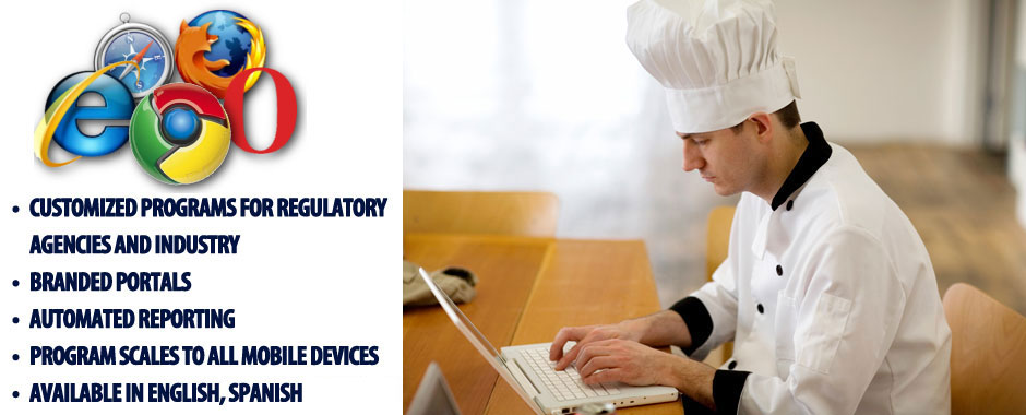 US Food Handler online ANSI ASTM Accredited program California ...